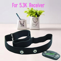 Wholesale 10pcs/lot  Wireless Heart Rate Chest Belt Strap Waterproof for 5.3K Receiver Polar Product  Free Shipping
