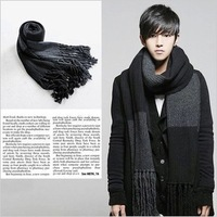Men's Scarf Fashion Korean-style Thicken Longer Scarf For Winter Freeshipping Wholesales PWX070