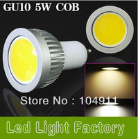 5pcs/lot GU10 I E27 I E14 I GU5.3 5W LED COB Spot Light Bulbs Lamps Warm White/Cool White High Brightness for home Decoration