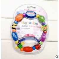 Free shipping lovely bug loop baby teether baby toy rattles pacifier for baby