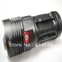 SKY RAY King 4xCree XML T6 3-Mode 2800LM LED flashlight/Torch-Black (4x18650)