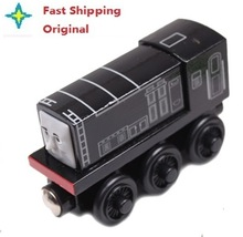 Fast Shipping Diesel Original Thomas And Friends Wooden Magnetic Railway Model Train Engine Boy / Kids Toy Christmas Gift , 3053(China (Mainland))