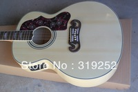 Free shipping High Quality Nature wood SJ NA with fishman pickups acoustic electric guitar