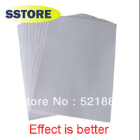 300pcs/lot  Good quality South Korea imports  A4  heat transfer paper thermal paper sublimation transfers paper bag white
