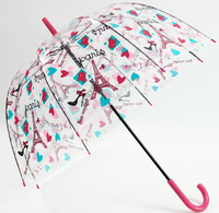 Season qiutong cytoskeleton structurein transparent umbrella long-handled umbrella bubble umbrella