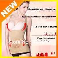 New 1 pcs/lot Tourmaline Far Infrared Ray Health Care corsets women suspenders Abdomen Body sculpting body vest  comfort girly