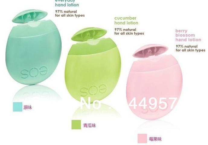 Free shipping U.S gossip girl E.O.S nature organic hand care mini hand cream hands lotions 3 flavors skincare(China (Mainland))