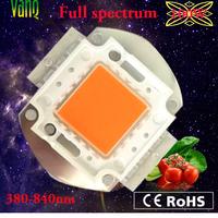 2014 vanq New arrival,best diy led grow light source, phosphors full spectrum cob 100w medical grow led chip