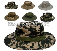 High quality Breathable Camping Hiking Fishing Hunting Air hole unisex outdoor sport Army caps hats,9 Camouflage Choice