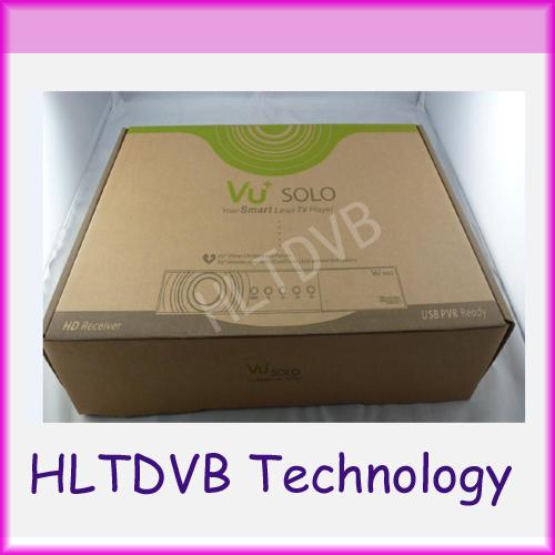 Cheapest Vu Solo V3.2 Version VU+Solo PVR Linux Smart Single Tuner DVB-S2 HD Digital satellite Receiver high quality(China (Mainland))