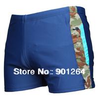 Green material nylon swim shorts for men  Mans Modal Health Underpants Shorts Panties Low Rise Mens Beach Swim Convex Trunks