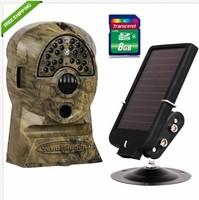 Free Shipping!ScoutGuard SG550V-31B 5M Trail Hunting Game Camera Cam+6V Solar Battery+8GB SD