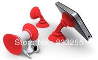 Free Shipping 10pcs/lot Mobile Phone Holder Sucker red/black/green/blue/oranger color Car Desktop stand