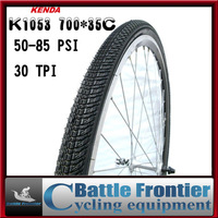 700*35C Kenda K1053 black resistant bicycle tire ultra-light 495g road bike tyre tires/50-85PSI bike parts 30TPI