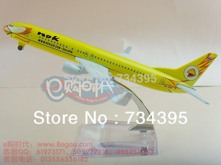 Bird Airways Boeing 737NOK16cm Thailand and Thailand static alloy aircraft model aircraft model aircraft vehicles toys(China (Mainland))