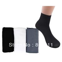 10 Pairs Comfortable Man ultrathin Bamboo fiber Short Socks Stockings One Size