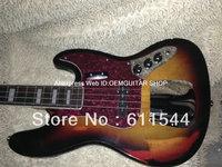 Bass Guitar Sunburst 4 Strings Aged Jazz Bass Wholesale High Quality Best Selling