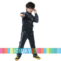 New Fashion Clothing Sets for Boys Leisure Wear Free Shipping Boys 2014 Trend Velour Sets  K4499