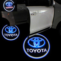 7W SUPERBRIGHT 5TH GENERATION CAR LED LOGO FOR TOYOTA WITH FREE SHIPPING