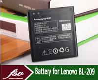free shipping wholesale 5pcs/lot + 2000mAh Battery for Lenovo A706 A820E A398t BL209 original Mobile Batteries