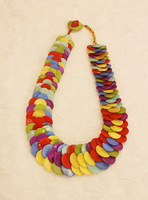 The love of natural shell fish lin fashion design fashion short necklace accessories
