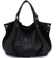 2014 Fashion Genuine Leather Bag Cowhide Women's Tassel Bag Shoulder Bag Vintage Handbag 4 Colors Gift