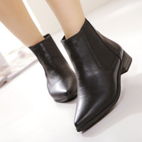 King alexander boots genuine leather boots autumn and winter female boots