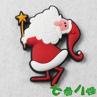 MOQ US$15 Christmas 4 refrigerator stickers magnets christmas gift