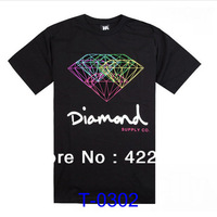 2014 New arrivals Wholesale Sport Style Diamond T-shirt men shirt T shirts 30 style Size S-XXXL pure cotton Free shipping