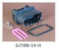 Waterproof 10 dj7105b-3.5-11 plug headlights volkswagen vw connector