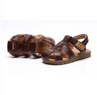 The 2014 Summer baby's shoes baby boys genuine leather cow leather sandals