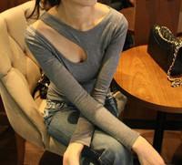 Women's New  Spring Autumn Plush Size XL XXL XXXL XXXXL XXXXXL 3XL 4XL 5XL Womens Shirts Sexy slim fit T-Shirt free shipping