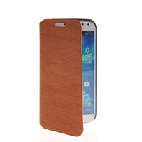 Fashion Luxury Plank stripes PU Leather Flip Cover Case For Samsung galaxy s4 SIV i9500 FREE SHIPPING