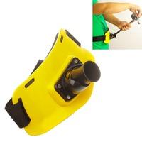 ABS Game Fishing Gimbal Belt - Yellow + Black