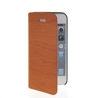 Fashion Luxury Plank stripes PU Leather Flip Cover Case For Apple iphone 5 5G 5S FREE SHIPPING