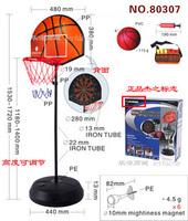 Free shipping Dual vertical child basketball backboard magnetic dart 80307