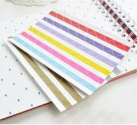 [sticker fun]Free shippping 30pcs/lot Manual paste type DIY photo album for 102 photo corner sticker wholesale sticker fun