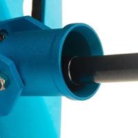Aluminum Alloy Game Fishing Gimbal Belt Steel - Blue +Black