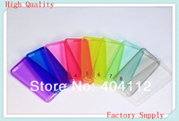 200pcs High Quality Clear Transparent Crystal Soft TPU Skin Gel Cover Case for iPhone 5C