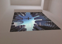 SV-2536/ New Fashion /Stretch Film/Beautiful Skyscraper /Function as Ceiling Panel /Sustainable