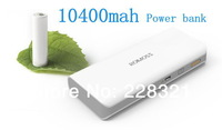 100PCS ROMOSS sense 4 10400mah external battery power bank charger for iPhone iPad iPod Samsung HTC with retail package