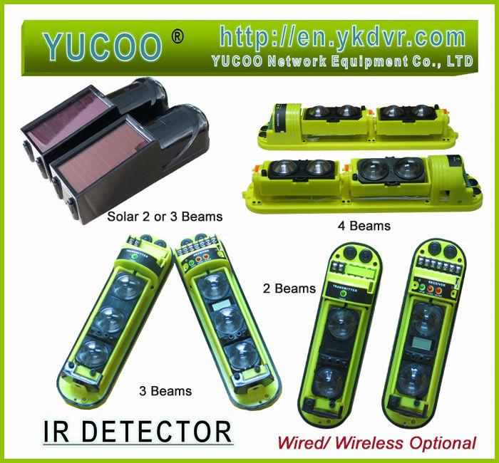 Infrared IR Beam Detector / Beams solar YK-TG-5W(China (Mainland))