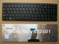 Original new for IBM LENOVO Ideapad G780 G780A G770 G770A Ru Russian version laptop notebook black keyboard free shipping
