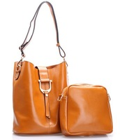 2014 new bucket bag genuine leather bag women's  shoulder cross-body bag messenger bag LF06677a