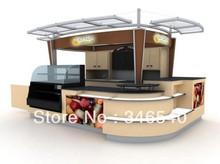 cafe kiosk con refrigerador para centro comercial(China (Mainland))
