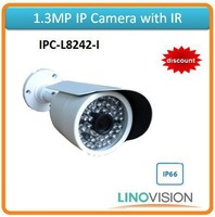 Freeshipping Linovision 1.3megapixel resolution IR IP camera