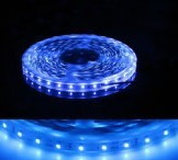 Free Shipping IP65 Waterproof Blue 5050-30LED SMD LED Flexible Strip Light CE/ROHS-Certification