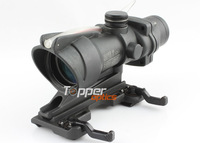 Airsoft Trijicon 4x32 ACOG TA31 Type Cross Sight Scope Riflescope with Fiber & Quick Detach 11 & GL 4x32C1(with quick lever)