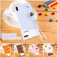 Pyrene rabbit  for HUAWEI   p6 ice cream phone shell cartoon soft silica gel protective case film