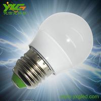 New Product!! YXG plastic 3w E27 2835smd led bulb lamps 4pcs/lot warm & cool white 90lmlw wholesale free shipping